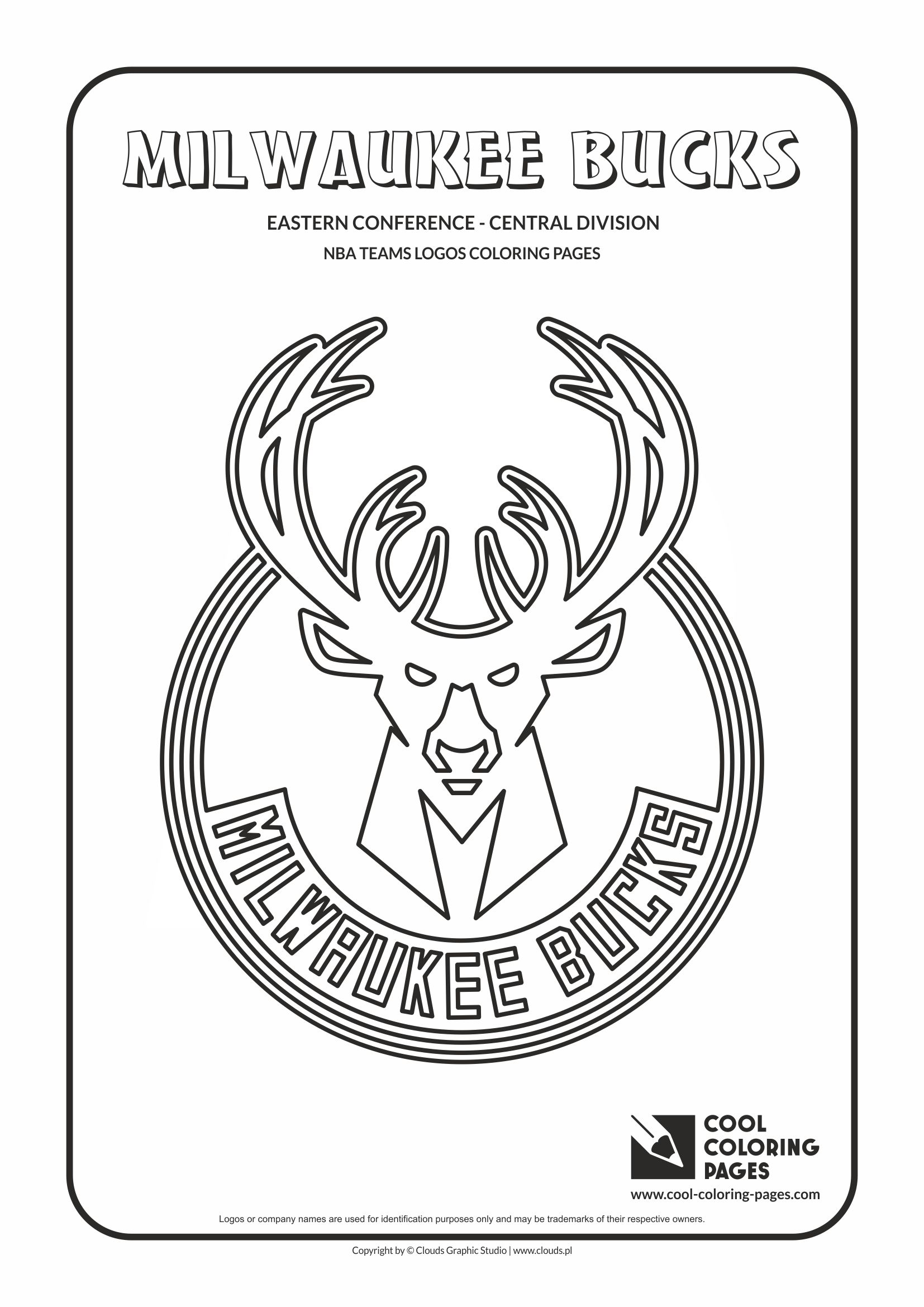 Milwaukee Bucks Coloring Pages