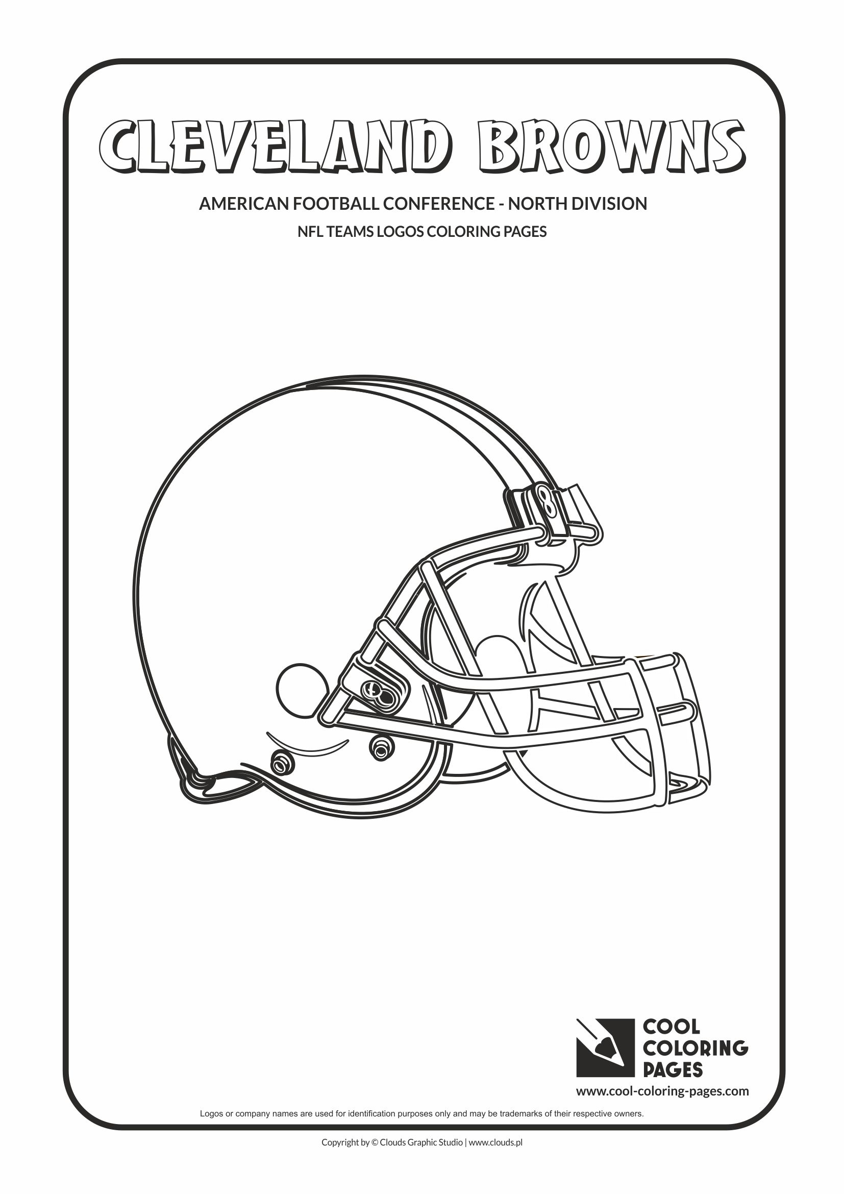 Cleveland Browns Coloring Pages