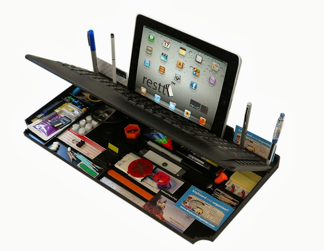 Bluetooth-Multimedia-Keyboard-6Products-in-ONE-iPad-phone-pen-Stand-organizer-More-1