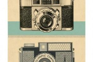 Gift for girls, Christmas ideas for teenage girls - vintage cavellini notebooks