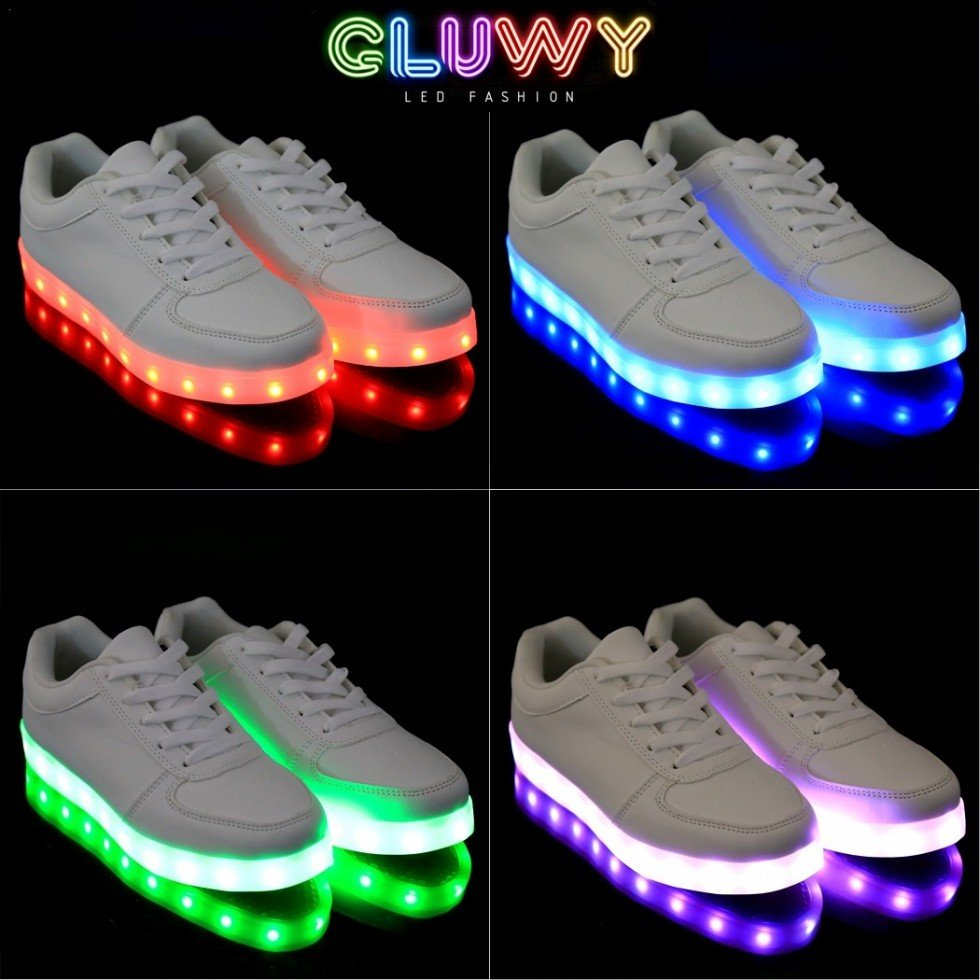 Image Result For Neon Light Shoes