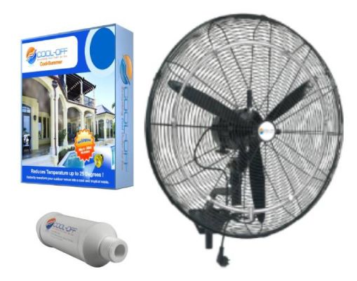 cool off misting fans best outdoor