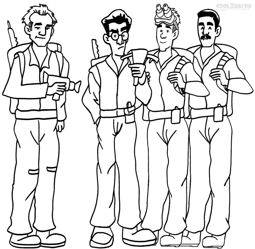Free Coloring Pages Ghostbusters, Download Free Clip Art, Free ... | 829x850