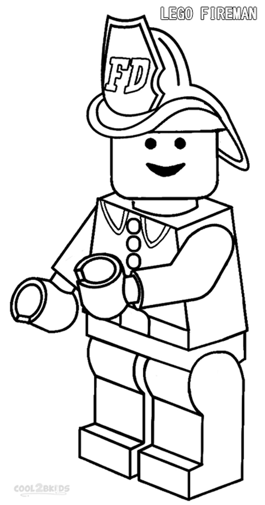 fireman hat coloring page ajilbabcom portal clipart best clipart with fire truck printable coloring pages