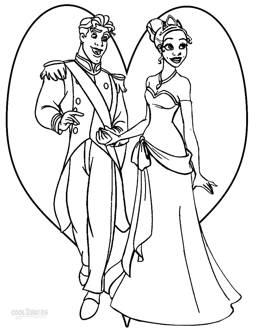 Printable Princess Tiana Coloring Pages For Kids | Cool2bKids | disney princess tiana printable coloring pages