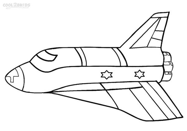 rocket ship coloring pages # 9