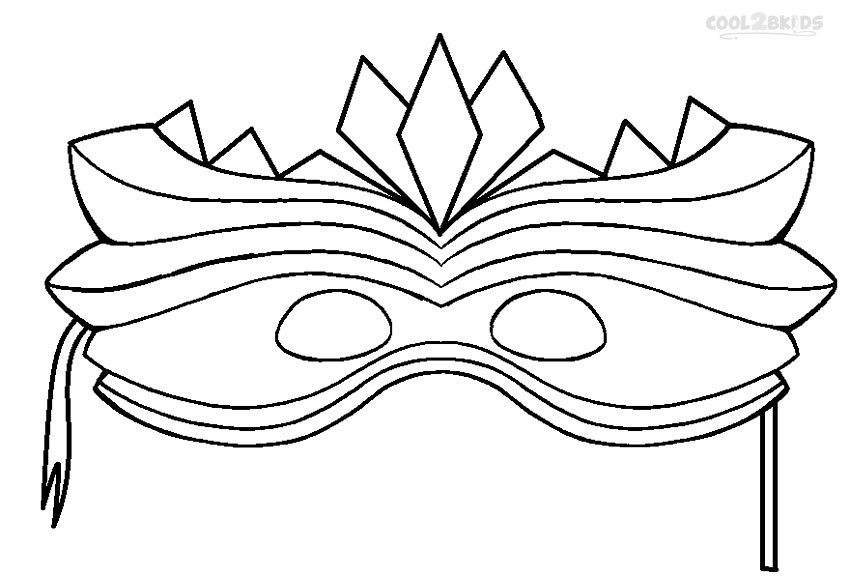 This is a picture of Intrepid Mardi Gras Coloring Pages Free Printable