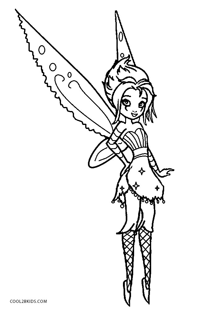 Printable emo coloring pages kids cool2bkids, tinkerbell coloring pages