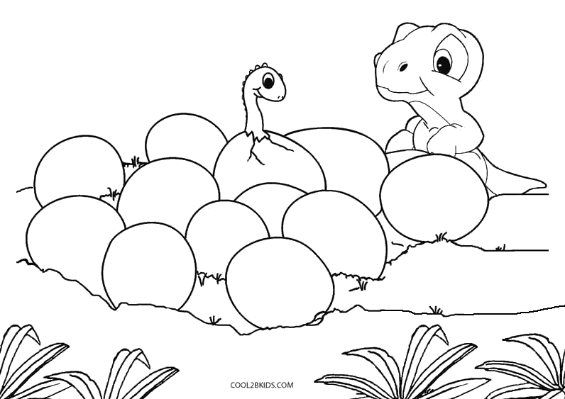 printable dinosaur coloring pages for kids cool2bkids