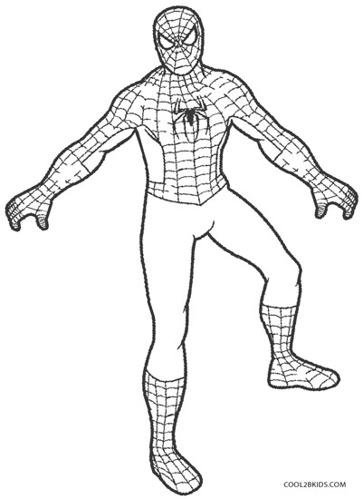 spiderman coloring pages kids coloring pages for spiderman