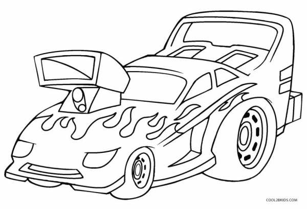 hot wheel coloring pages # 17