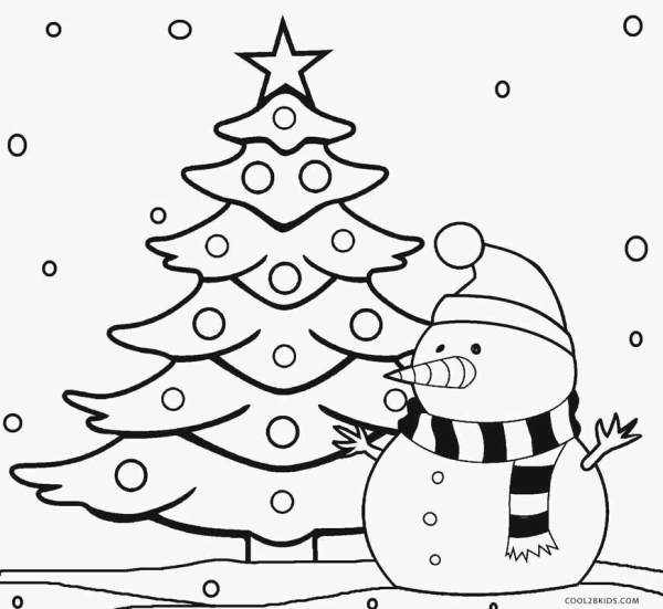 christmas trees coloring pages # 3