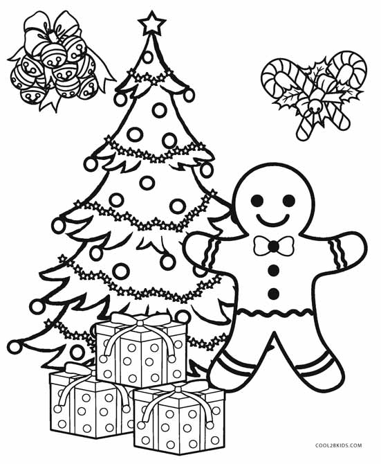 coloring pages of christmas trees # 11
