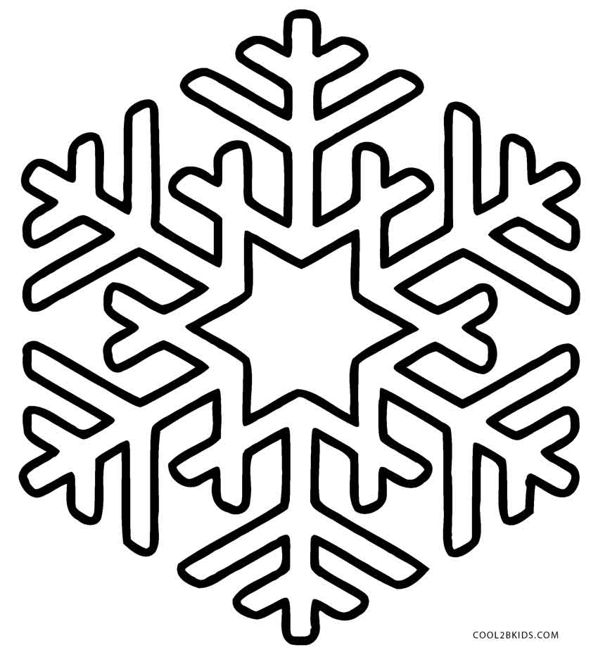 coloring pages of snowflakes colouring pages snowflakes