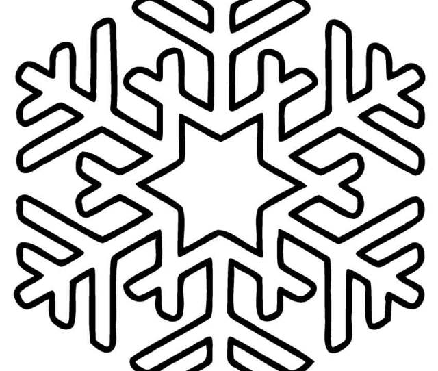 Printable Snowflake Coloring Pages For Kids Coolbkids