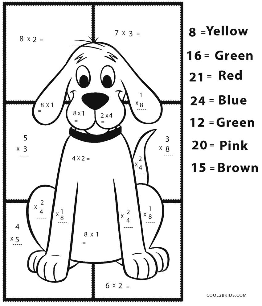 Free Printable Math Coloring Pages For Kids Cool2bkids