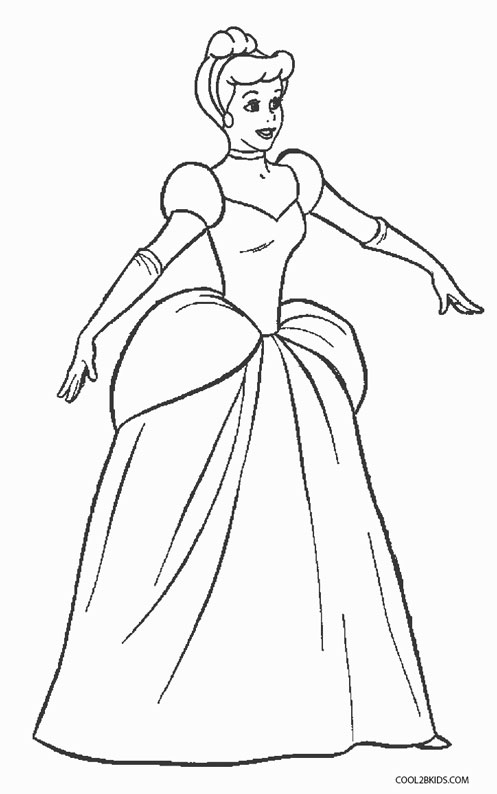 Free Printable Cinderella Coloring Pages For Kids Cool2bKids