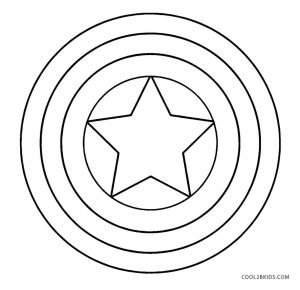 shield coloring page # 8