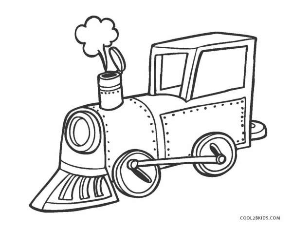 train coloring pages # 32