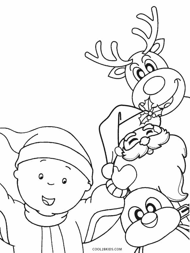 Free Printable Santa Coloring Pages For Kids Cool2bKids
