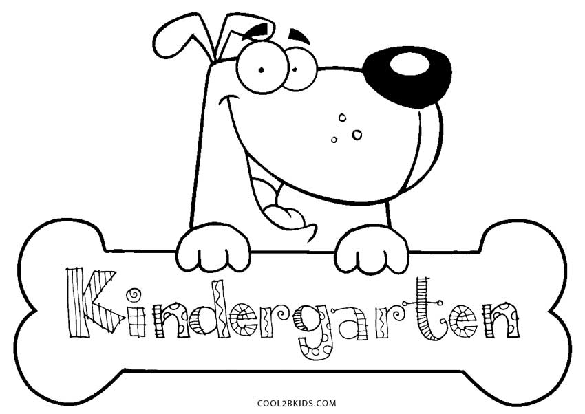 Free Printable Kindergarten Coloring Pages For Kids ... | coloring worksheets for kinder