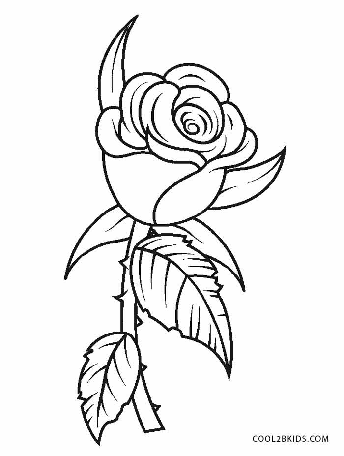 Free Printable Flower Coloring Pages For Kids | Cool2bKids | printable coloring pages for flowers