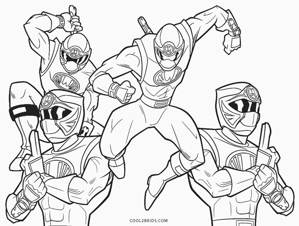 power rangers megaforce coloring pages # 84