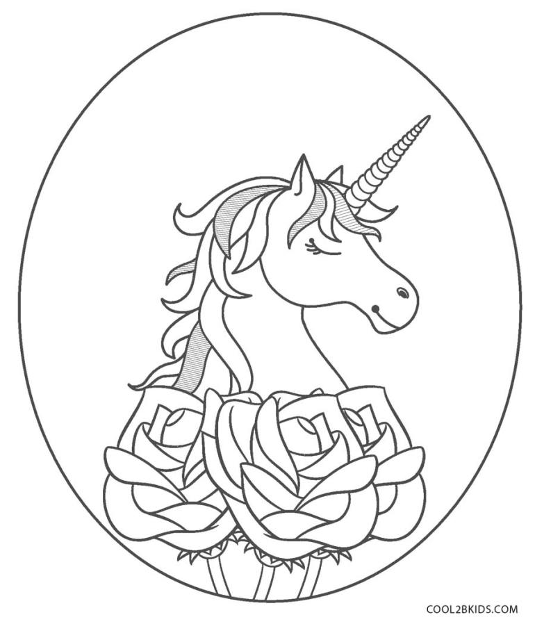 Free Printable Unicorn Coloring Pages For Kids | Cool2bKids | coloring pages printable unicorn