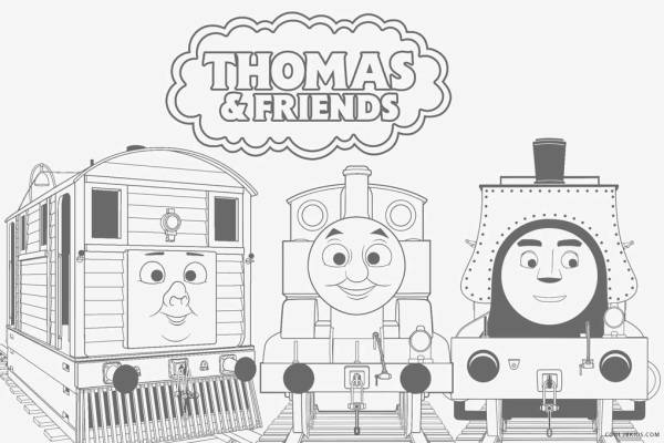 train coloring # 43