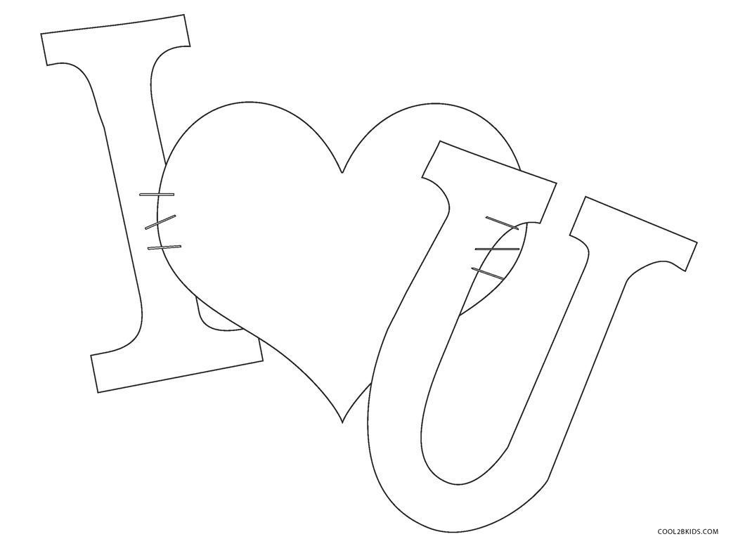 Free Printable Love Coloring Pages For Kids