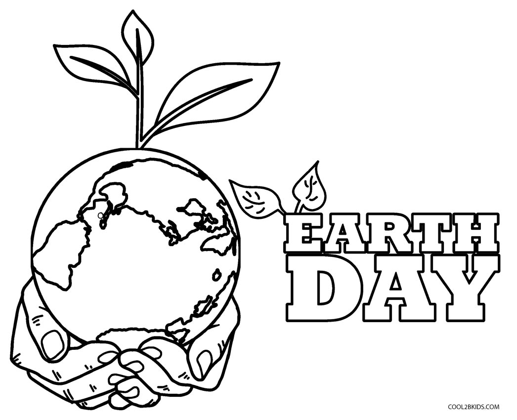 Free Printable Earth Day Coloring Pages For Kids