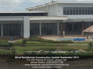 Wind Residences, Tagaytay Construction Updated September 2014