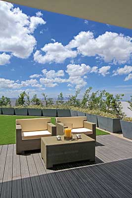 Blue Residences Open Area Amenity
