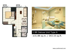 Breeze Residences - 1 Bedroom Deluxe A