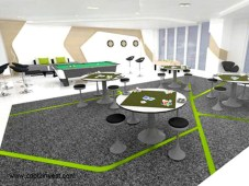 Green Residences Game Room