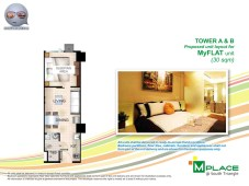 M Place South Triangle Unit Layout Tower A and B My Flat Unit
