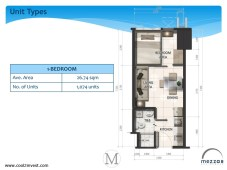 Mezza ii Residences 1 Bedroom