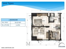 Mezza ii Residences 2 Bedroom