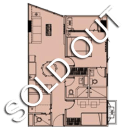 Sold Out - 2 Bedroom Suite with Balcony - Shore 2 Residences