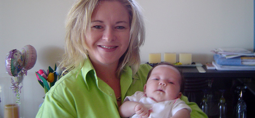 "A Word of ""Thanks"" From Mum Melissa & Baby Ellery"