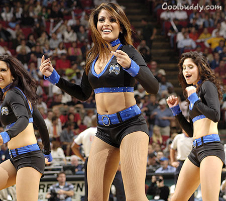 Its not just the players, its the cheerleaders too!