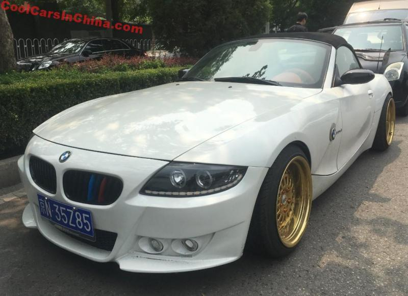 Bmw Z4 3 0 Si Is A Lowrider In China Coolcarsinchina Com