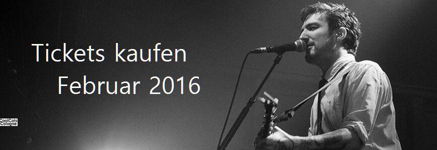 Konzerte in Köln Februar 2016