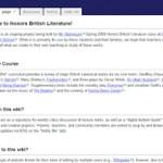 Mr. Bariexca's Honors British Literature Wiki