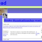 TweetScraping: @ivread – the new way to track books you've read on Twitter