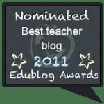 Edublog Award Voting Now Open