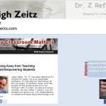 Dr. Z: Leigh Zeitz , a student-centered Education Technology Professor