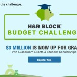 The H&R Block Budget Challenge: Giving Away Scholarships as Kids Learn Financial Literacy