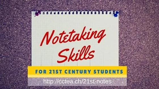 Note Taking Skills For 21st Century Students Coolcatteacher