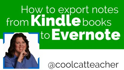 How to export notes from a Kindle book to Evernote